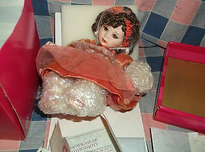 Marie Osmond Doll Tiny Tot  Remember Me Rose Bud  Appears NIB  Box Has Wear