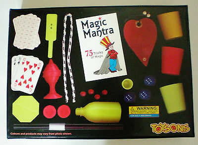 Magic Mantra playing card show game 75 tricks collection kids toy gift