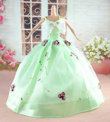 New Handmade Party Clothes Fashion Dress for Noble Doll  #y16