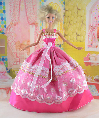 New Handmade Party Clothes Fashion Dress for Noble Doll  #y80