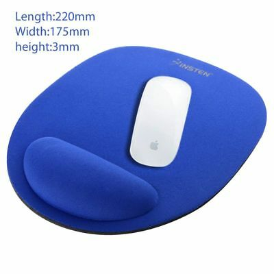 Wrist Comfort Mouse Pad Mice Pad Mat Mousepad for Optical Mouse (BLUE)