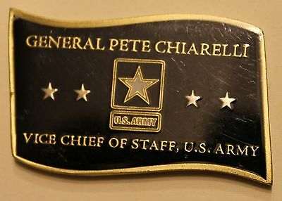 General Pete Chiarelli Vice Chief of Staff, US Army Challenge Coin
