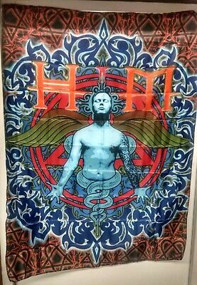 HIM Angel Wings Bam Margera Ville Valo 3' x 4' Cloth Fabric Poster Wall Flag-New