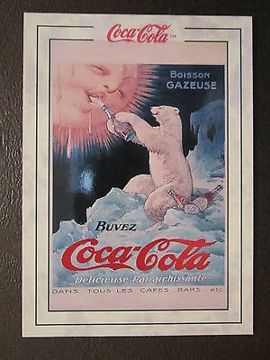 1994  COCA-COLA   POLAR BEAR - 1920  PB-1   trading card