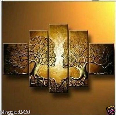 5pc Huge WALL Modern Abstract on Canvas decorative Oil Painting(NO frame)P072