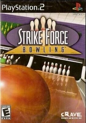 Strike Force Bowling  (Sony PlayStation 2, 2004) DISC ONLY