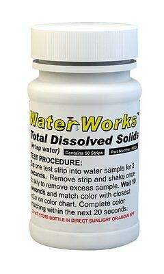 Water Total Dissolved Solids Test Kit (50 Test Strips)