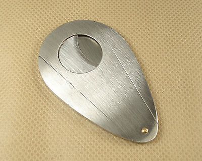 New Classic Double Blades Stainless steel Cigar cutter fx55 Nice Gift