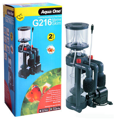 Aqua One ProSkim G216 Aquarium Fish Tank Protein Salt Skimmer 3 YR WARRANTY