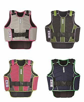 Zeus Body Horse Riding ADULTS Body Protector **ALL SIZES & COLOURS**