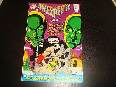 UNEXPECTED #106  Silver Age Horror Higher Grade  DC Comics 1968 VFN/VFN-