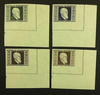 MOMEN: AUSTRIA Osterreich STAMPS RENNER SET MINT OG NH $ LOT #5559