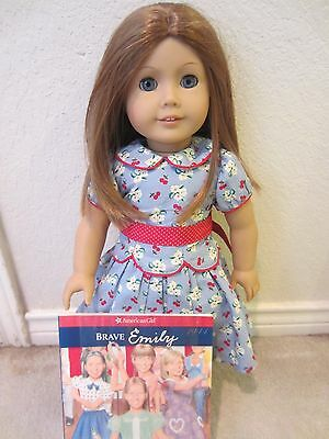 Retired American Girl Doll Emily with Book