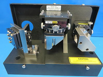 ESi Laser Beam Alignment Assembly w/ 2 Parker 008-8994 Precision Rotory Stages
