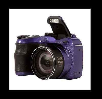 GE POWER Pro series X500 16.0 MP Digital Camera - METALLIC PURPLE