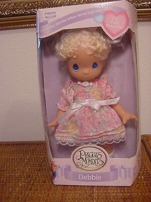 Precious Moments Doll Debbie Poseable New In Box
