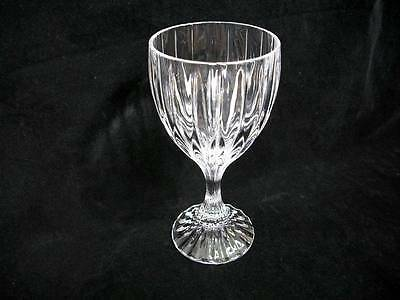 "Mikasa Crystal Park Lane Water Goblet(s) 6 3/4"" Very Fine"