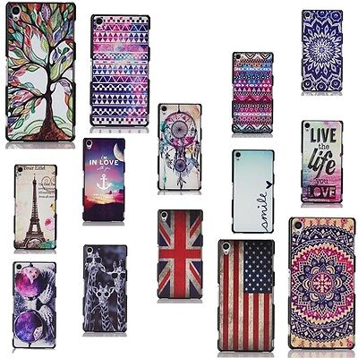 Hard For Apple iPhone Printed Pattern Design New Back Skin Protector Case Cover