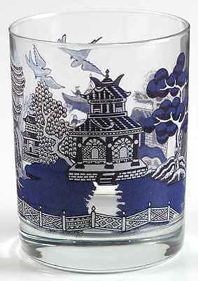 Johnson Brothers WILLOW BLUE 10 Oz Double Old Fashioned Glass 5916823
