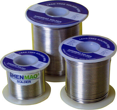 TIN LEAD FREE SOLDER WIRE REEL FLUX CORE 1mm 100g NEW