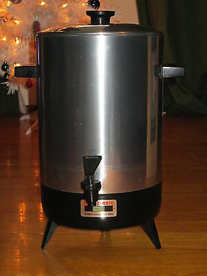 Vintage Empire-Matic 32 Cup Electric Automatic Party Coffee maker Percolator