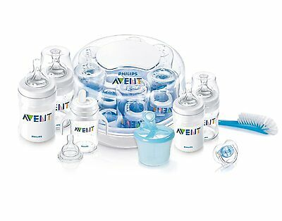 Philips AVENT BPA Free Classic Polypropylene Essentials Gift Set, New