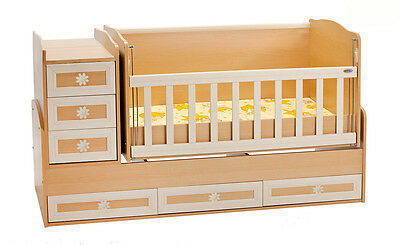 gitterbetten betten m bel baby picclick at. Black Bedroom Furniture Sets. Home Design Ideas