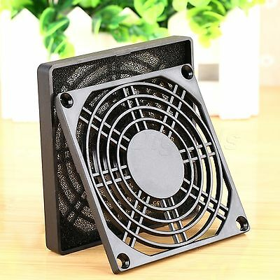 PC Computer 90mm Dustproof Case Fan Dust Mesh Filter Guard Grill Cover Protector