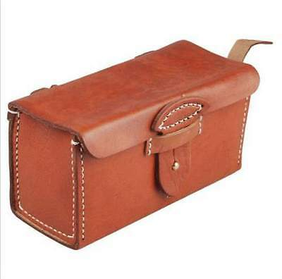 WWII Imperial Japanese Arisaka Type 38 Leather Ammo Pouch Bag Case – JP010