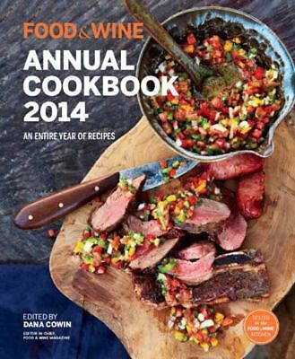 Food & Wine Annual Cookbook 2014: An Entire Year of Recipes (Hardcover) NEW COND