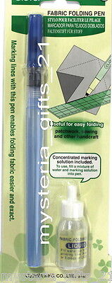 Fabric Folding Pen For Assisting Folding Line On Fabric