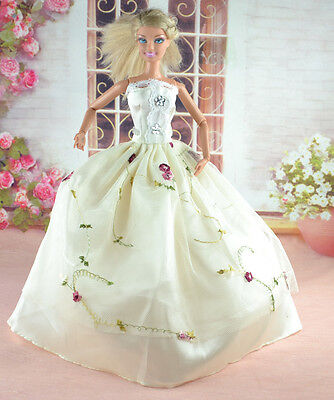 New Handmade Party Clothes Fashion Dress for Noble Doll  #y15