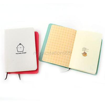 """Molang Rabbit"" Diary Agenda Scheduler Note Book Journals Notebook Planner Memo"