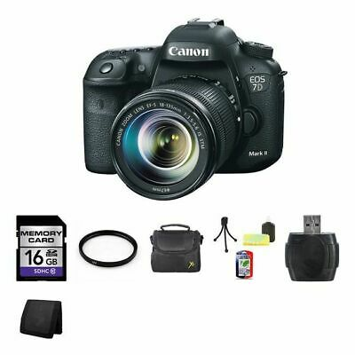 Canon EOS 7D Mark II DSLR Camera w/18-135mm Lens