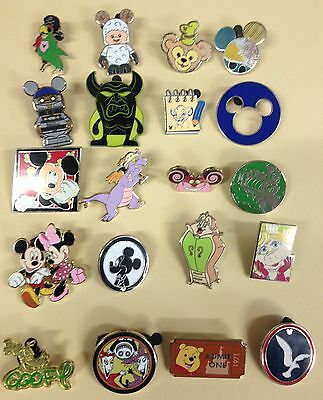 Disney Trading Pin Lot 100, No Duplicates 100% Tradable Grab Bag  DPF #.2