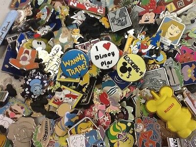 Disney Pin Trading Lot U Pick Size 10,20,30,40,50,100,200 *READ LISTING* YPS