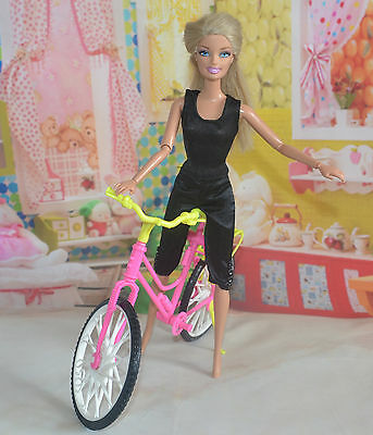 Handmade Party Clothes Fashion Dress for Noble Barbie Doll ba49