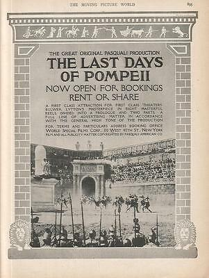 Fernanda Negri Pouget 1913 Ad- The Last Days Of Pompeii/now open for bookings