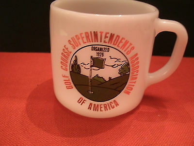 VTG Federal Mug - Golf Course Superintendents Association 50 Years Progress 1976