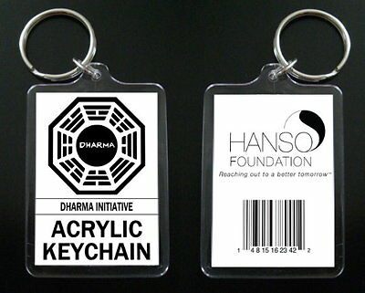 LOST keychain / keyring DHARMA INITIATIVE