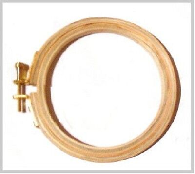 Wooden Craft Hoops Brand New