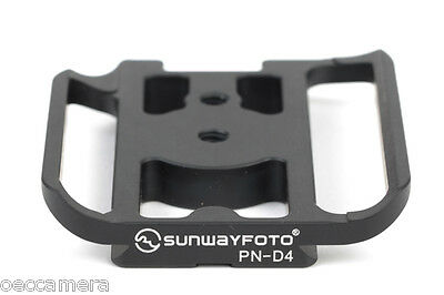 SUNWAYFOTO PN-D4 QR Plate for Nikon D4 Camera Arca Compatible Sunway PND4 NEW