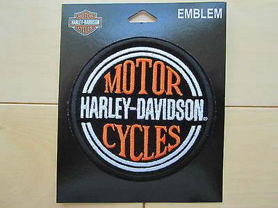 "Harley Davidson Small ""H-D Circle Name"" Emblem Patch"