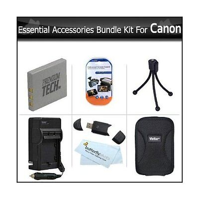 Essential Accessories Bundle Kit For Canon PowerShot ELPH 330 HS  ELPH 100 HS
