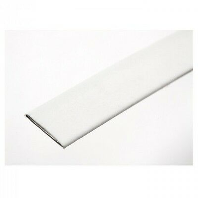 Hemline 1m  x 10mm Plastic Coated Steel Boning White