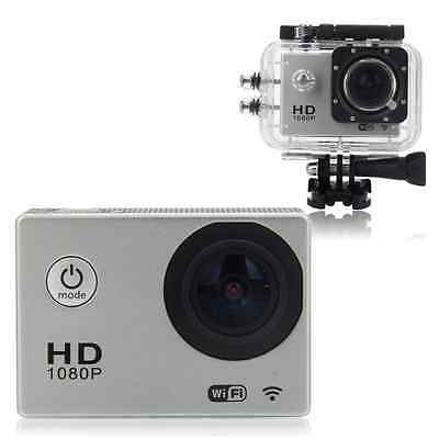 SJ4000 Silver Wi-Fi 12MP HD 1080P Sports DV Action Waterproof Camera Camcorder