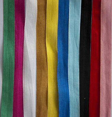 100% Pure Silk Ribbon, 7Mm /13Mm, Various Lengths & Colours, Crafts,  Wedding