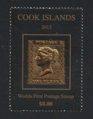 Cook Islands 2013 Penny Black Commemorative Stamp Issue