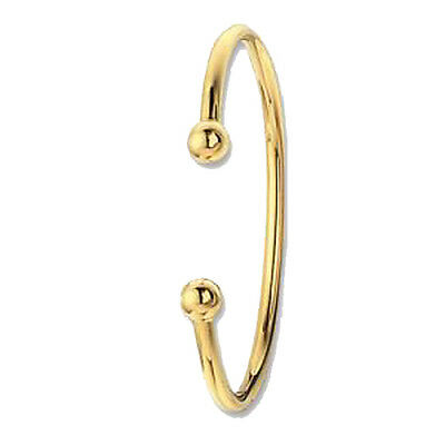Babies 9ct Yellow Gold Torque Bangle *BN129