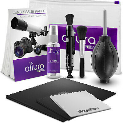Altura Photo® Professional Camera & Lens Cleaning Kit for Canon Nikon Sony DSLR